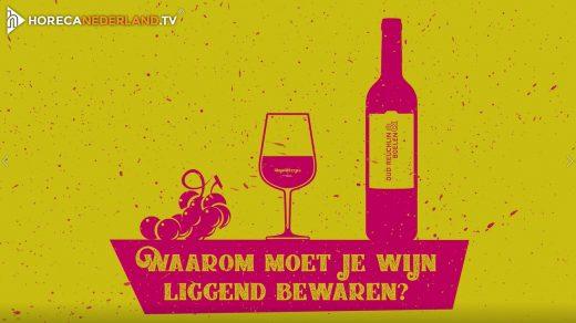 Waarom moet je wijn liggend bewaren?