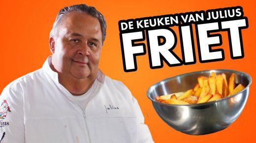 In deze eerste aflevering van De Keuken van Julius laat chefkok Julius Jaspers zien hoe je eenvoudig en in een paar stappen zelf friet kan maken.