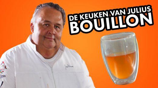 Met runderschenkel, wat groente en een simpel stappenplan laat Julius Jaspers in De Keuken van Julius zien hoe je simpel een zelfgemaakte bouillon maakt.