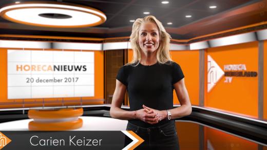 Dit is het HorecaNieuws van woensdag 20 december 2017, gepresenteerd door Carien Keizer. Met o.a. horeca centrum Apeldoorn klaar voor 3FM Serious Request.