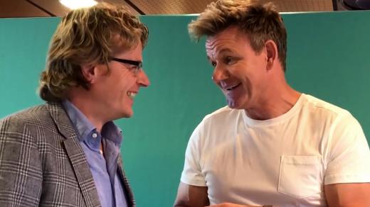 Gordon Ramsay werd geïnterviewd door presentator Gerlof Bos. Wat moet je als chefkok doen om de top bereiken? Bekijk het interview met Gordon Ramsay!